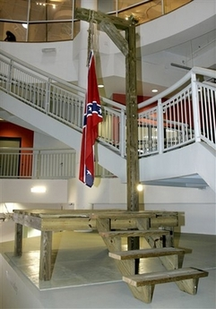 The Proper Way to Hang a Confederate Flag
