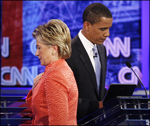 Barak and Hilary Debate