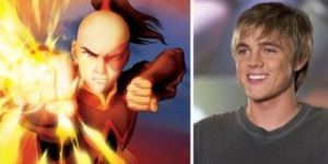 Zuko, as played by (non-Asian) Jesse McCartney